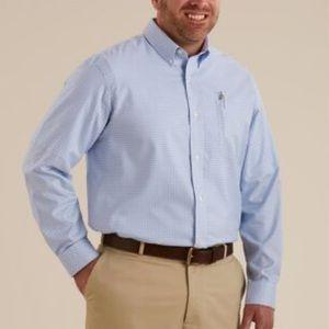 Duluth Trading men's wrinkle fighter dress shirt